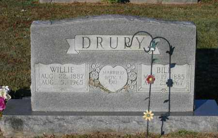 WAGSTER DRURY, WILLIE K. - Lawrence County, Arkansas | WILLIE K. WAGSTER DRURY - Arkansas Gravestone Photos