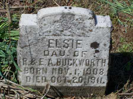 DUCKWORTH, ELSIE - Lawrence County, Arkansas | ELSIE DUCKWORTH - Arkansas Gravestone Photos