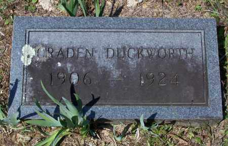 DUCKWORTH, THOMAS GRADEN - Lawrence County, Arkansas | THOMAS GRADEN DUCKWORTH - Arkansas Gravestone Photos