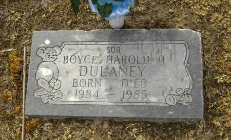 DULANEY II, BOYCE HAROLD - Lawrence County, Arkansas | BOYCE HAROLD DULANEY II - Arkansas Gravestone Photos
