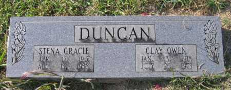 DUNCAN, CLAY OWEN - Lawrence County, Arkansas | CLAY OWEN DUNCAN - Arkansas Gravestone Photos