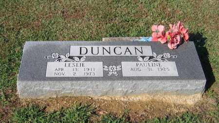 DUNCAN, LESLIE - Lawrence County, Arkansas | LESLIE DUNCAN - Arkansas Gravestone Photos