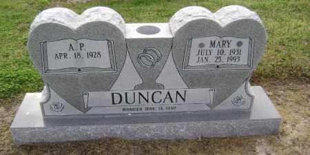 DUNCAN, MARY ELLA - Lawrence County, Arkansas | MARY ELLA DUNCAN - Arkansas Gravestone Photos