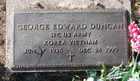 "DUNCAN (VETERAN 2 WARS), GEORGE EDWARD ""BUSTER"" - Lawrence County, Arkansas 