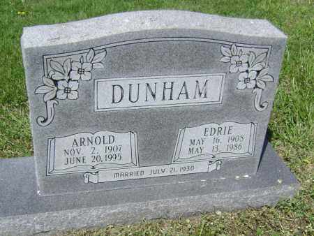 DUNHAM, ARNOLD - Lawrence County, Arkansas | ARNOLD DUNHAM - Arkansas Gravestone Photos