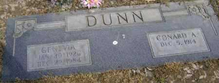 DUNN, GENEVIA OPAL - Lawrence County, Arkansas | GENEVIA OPAL DUNN - Arkansas Gravestone Photos