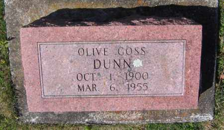 DUNN, OLIVE - Lawrence County, Arkansas | OLIVE DUNN - Arkansas Gravestone Photos
