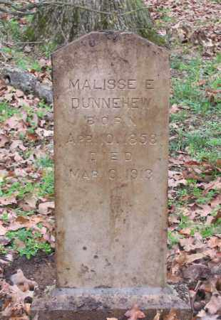 DUNNEHEW, MALISSE E. - Lawrence County, Arkansas | MALISSE E. DUNNEHEW - Arkansas Gravestone Photos