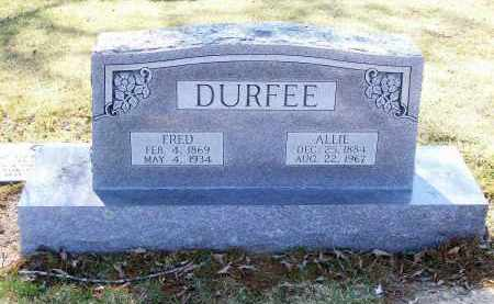 DURFEE, ALLIE - Lawrence County, Arkansas | ALLIE DURFEE - Arkansas Gravestone Photos