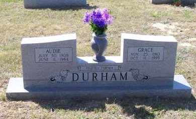 DURHAM, AUDIE L. - Lawrence County, Arkansas | AUDIE L. DURHAM - Arkansas Gravestone Photos