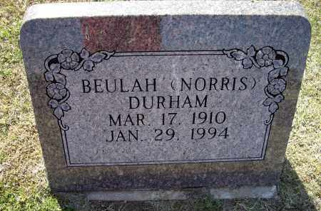DURHAM, BEULAH - Lawrence County, Arkansas | BEULAH DURHAM - Arkansas Gravestone Photos