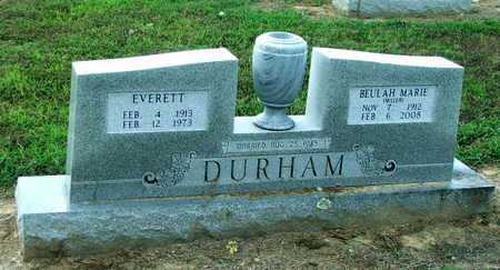 DURHAM, BEULAH M. - Lawrence County, Arkansas | BEULAH M. DURHAM - Arkansas Gravestone Photos