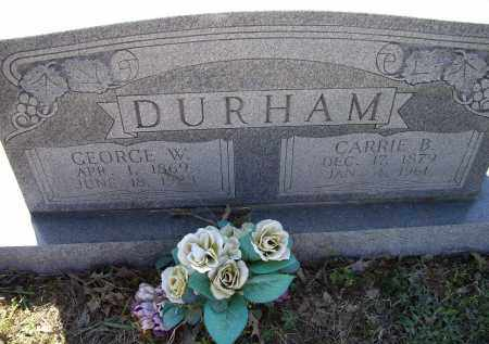 DURHAM, CARRIE BETTY - Lawrence County, Arkansas | CARRIE BETTY DURHAM - Arkansas Gravestone Photos
