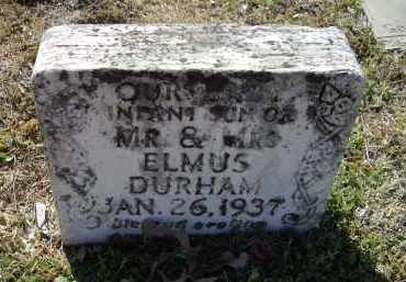 DURHAM, INFANT SON - Lawrence County, Arkansas | INFANT SON DURHAM - Arkansas Gravestone Photos