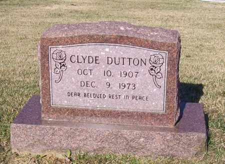 DUTTON, CLYDE - Lawrence County, Arkansas | CLYDE DUTTON - Arkansas Gravestone Photos