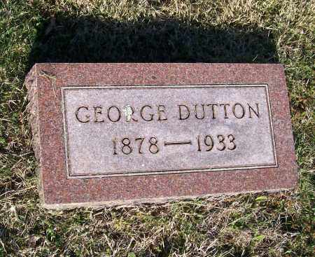 DUTTON, GEORGE OSCAR - Lawrence County, Arkansas | GEORGE OSCAR DUTTON - Arkansas Gravestone Photos