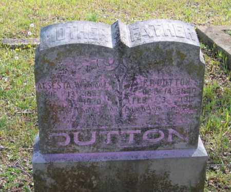 DUTTON, SR., FRANK PERRY - Lawrence County, Arkansas | FRANK PERRY DUTTON, SR. - Arkansas Gravestone Photos