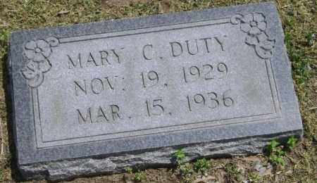 DUTY, MARY CLUDE - Lawrence County, Arkansas | MARY CLUDE DUTY - Arkansas Gravestone Photos