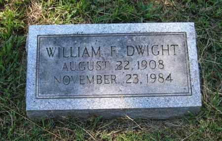 DWIGHT, WILLIAM FELTON - Lawrence County, Arkansas | WILLIAM FELTON DWIGHT - Arkansas Gravestone Photos