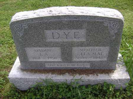 DYE, I. A. - Lawrence County, Arkansas | I. A. DYE - Arkansas Gravestone Photos