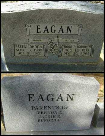 EAGAN, NONA PERMELIA - Lawrence County, Arkansas   NONA PERMELIA EAGAN - Arkansas Gravestone Photos