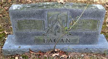 "EAGAN, OBEDIAH ""OBIE"" - Lawrence County, Arkansas 