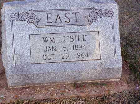 """EAST, WILLIAM  HENRY JAMES """"BILL"""" - Lawrence County, Arkansas 
