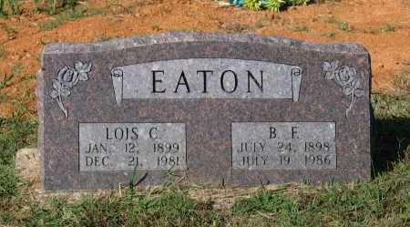 EATON, BENJAMIN FLOYD - Lawrence County, Arkansas | BENJAMIN FLOYD EATON - Arkansas Gravestone Photos