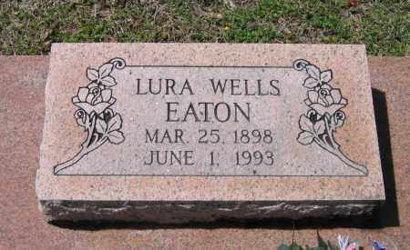 WELLS EATON, LURA THENA - Lawrence County, Arkansas | LURA THENA WELLS EATON - Arkansas Gravestone Photos