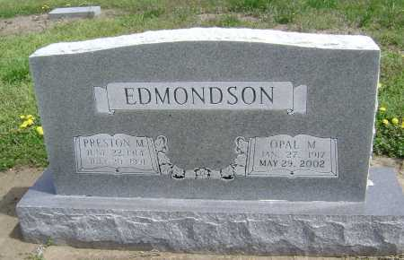 EDMONDSON, PRESTON MOORE - Lawrence County, Arkansas | PRESTON MOORE EDMONDSON - Arkansas Gravestone Photos