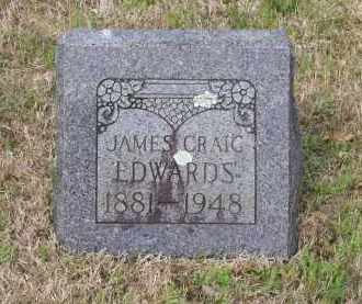 EDWARDS, JAMES CRAIG - Lawrence County, Arkansas | JAMES CRAIG EDWARDS - Arkansas Gravestone Photos