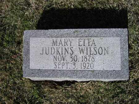 WILSON, MARY LOU ETTA EDWARDS JUDKINS - Lawrence County, Arkansas | MARY LOU ETTA EDWARDS JUDKINS WILSON - Arkansas Gravestone Photos