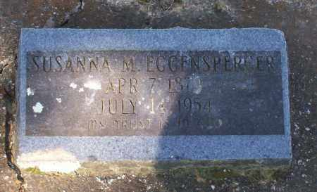 EGGENSPERGER, SUSANNA - Lawrence County, Arkansas | SUSANNA EGGENSPERGER - Arkansas Gravestone Photos
