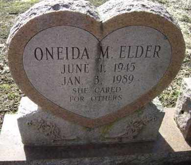 BAKER ELDER, ONEIDA MARIE - Lawrence County, Arkansas | ONEIDA MARIE BAKER ELDER - Arkansas Gravestone Photos