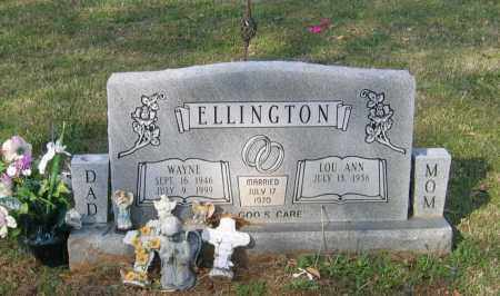 ELLINGTON, WILLIAM WAYNE - Lawrence County, Arkansas | WILLIAM WAYNE ELLINGTON - Arkansas Gravestone Photos