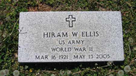 ELLIS (VETERAN WWII), HIRAM W. - Lawrence County, Arkansas | HIRAM W. ELLIS (VETERAN WWII) - Arkansas Gravestone Photos
