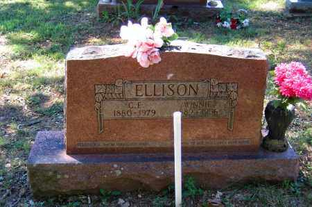 "ELLISON, CLARENCE EDGAR ""CAPP"" - Lawrence County, Arkansas 