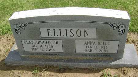 ELLISON, JR, CLAY ARNOLD - Lawrence County, Arkansas | CLAY ARNOLD ELLISON, JR - Arkansas Gravestone Photos
