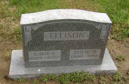 ELLISON, RUFIE W. - Lawrence County, Arkansas | RUFIE W. ELLISON - Arkansas Gravestone Photos