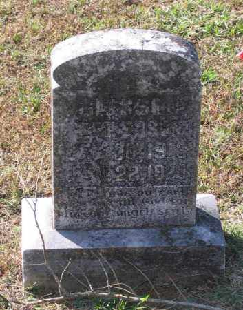 EPPERSON, GLISSON - Lawrence County, Arkansas | GLISSON EPPERSON - Arkansas Gravestone Photos