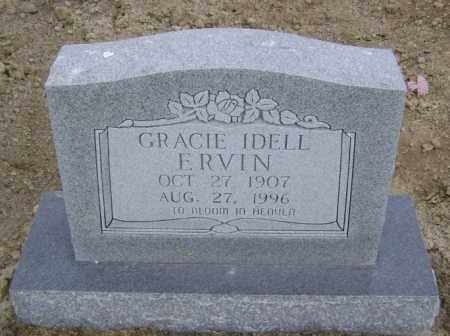 ERVIN, GRACIE IDELL - Lawrence County, Arkansas | GRACIE IDELL ERVIN - Arkansas Gravestone Photos