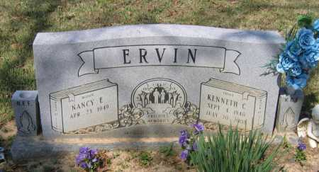 ERVIN, KENNETH CLYDE - Lawrence County, Arkansas | KENNETH CLYDE ERVIN - Arkansas Gravestone Photos