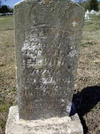 ERWIN, KITTIE - Lawrence County, Arkansas   KITTIE ERWIN - Arkansas Gravestone Photos