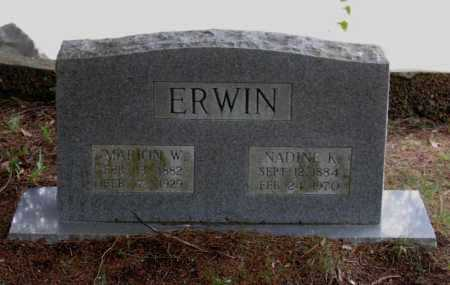 KELLEY ERWIN, ELLSWORTH NADINE - Lawrence County, Arkansas | ELLSWORTH NADINE KELLEY ERWIN - Arkansas Gravestone Photos