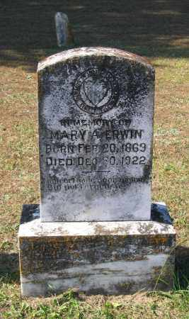 ERWIN, MARY A. - Lawrence County, Arkansas | MARY A. ERWIN - Arkansas Gravestone Photos