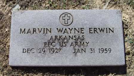 ERWIN (VETERAN), MARVIN WAYNE - Lawrence County, Arkansas | MARVIN WAYNE ERWIN (VETERAN) - Arkansas Gravestone Photos