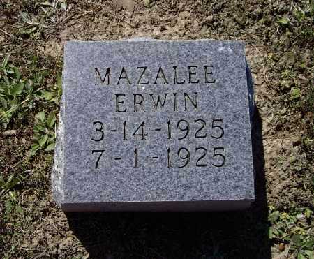 ERWIN, MAZALEE - Lawrence County, Arkansas | MAZALEE ERWIN - Arkansas Gravestone Photos