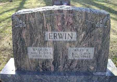 ERWIN, MARY R. - Lawrence County, Arkansas | MARY R. ERWIN - Arkansas Gravestone Photos