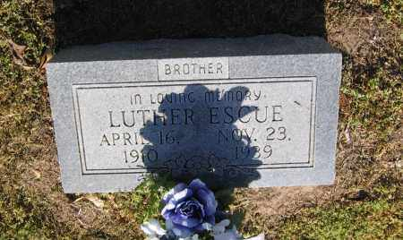 ESCUE, LUTHER - Lawrence County, Arkansas | LUTHER ESCUE - Arkansas Gravestone Photos