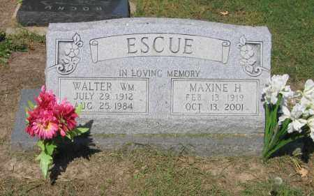 ESCUE, WALTER WILLIAM - Lawrence County, Arkansas | WALTER WILLIAM ESCUE - Arkansas Gravestone Photos